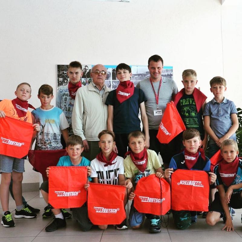 Российско немецкая школа по футболу