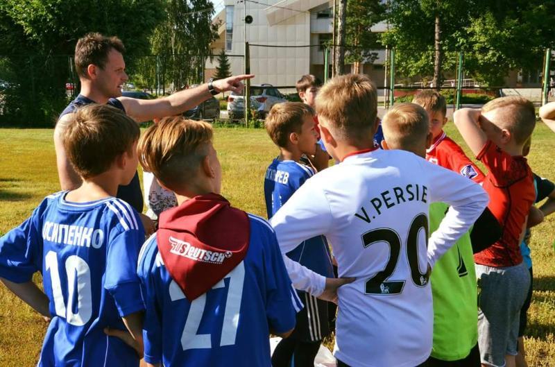 Подготовка немецких футболистов